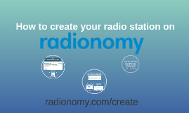 How to create your radio station?