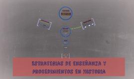 Estrategias de enseñanza y procedimientos en Historiia