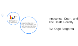 Innocence, Court, and The Death Penalty