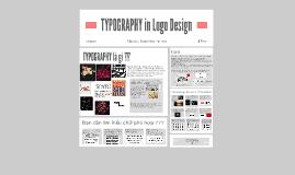 TYPOGRAPHY in Logo Design