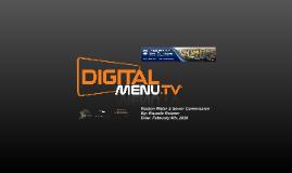 Digital Menu Presentation