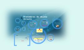 Copy of Pronombres de objeto directo