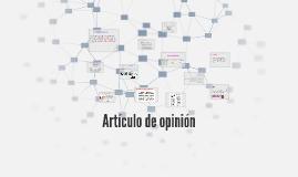 Copy of Artículo de opinión