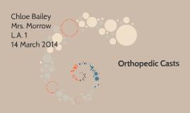 Orthopedic Casts