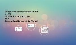 El Renacimiento y Literatura S XVI Y XVII