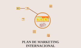 Plan de Marketing Internacional Arepas Isabella