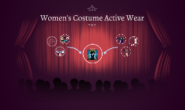 Women's Costume Active Wear