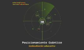 Posicionamiento Cuántico