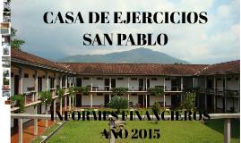 CASA DE EJERCICIOS SAN PABLO 2015 FINAL