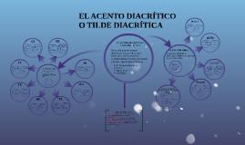 Copy of EL ACENTO DIACRÍTICO O TILDE DIACRÍTICA