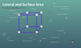 Lateral and Surface Area
