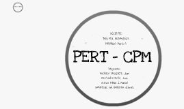 Copy of PERT-CPM GROUP