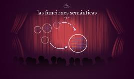 las funciones semánticas