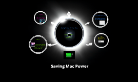 Saving Mac Power