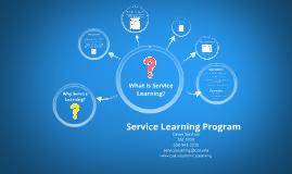 Summer Service Learning Program
