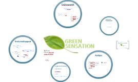 Onderzoek voor Beleidsplan Green Sensation
