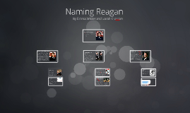 Naming Reagan : By Emma Wilder and Sarah Crossan