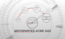 MOTOPARTES ACME SAS