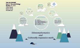 Ethnomathematics