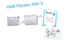 OCR Physics AS Unit 2