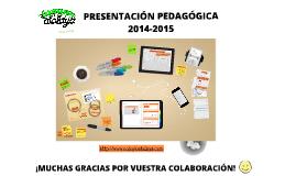 PRESENTACIÓN PEDAGÓGICA - CLASE DEL GATO 2014-15