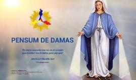 PENSUM DE DAMAS