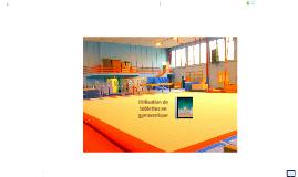 Numérique : usage des tablettes en gymnastique