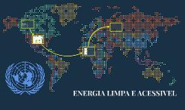 ENERGIA LIMPA E ACESSIVEL