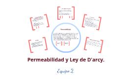 Permeabilidad y ley de Darcy