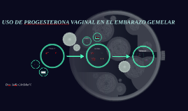 Uso de Progesterona Vaginal en