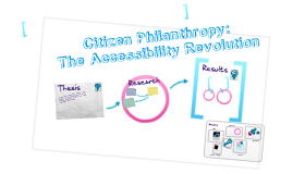 Citizen Philanthropy: The Accessibility Revolution