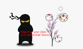 Ninja Proof your Class from Intellectual Thievery