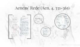 Aeneas' Rede (Aen. 4, 331-361)