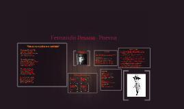 Fernando Pessoa- Heterónimos