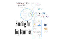 Hacktivity 2014 - Hunting for top bounties