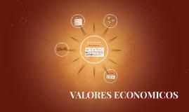 VALORES ECONOMICOS