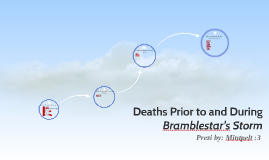 Deaths Prior to and During Bramblestar's Storm