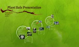 Plant Sale Presentation