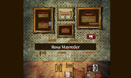 Copy of Rosa Mayreder