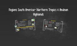 The Northern Tropics