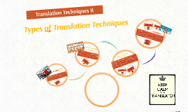 Copy of Translations Techniques