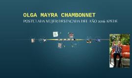 OLGA MAYRA CHAMBONNET