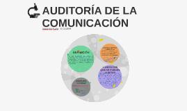 AUDITORÍA DE LA COMUNICACIÓN