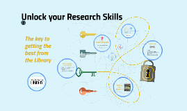 Skills for Research