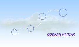Qudrati Manazir