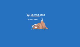 The BETHEL BOX