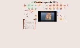 Containers para la DFI