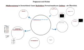 Programm und Nutzer