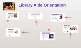 Library Aide Orientation