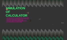 Copy of Simulation of calculator
